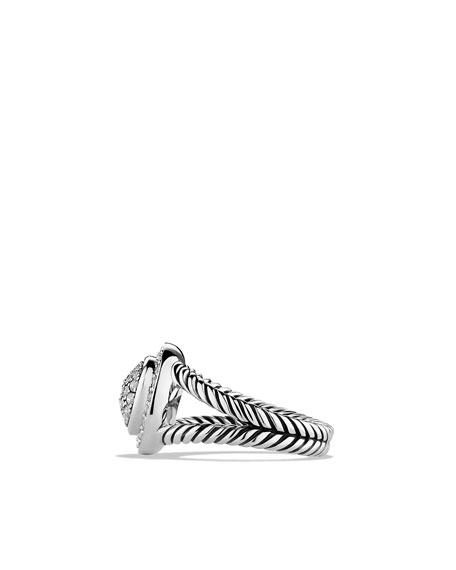 Petite Cerise Ring with Diamonds
