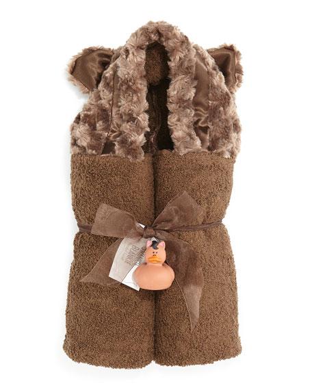 Hooded Bear Towel