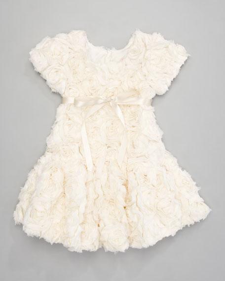 Bouquet Drop-Waist Dress, Sizes 2-3