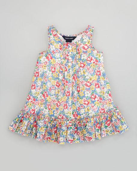 Floral Babydoll Dress, Sizes 2T-6X