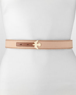 Jason Wu Alla 3 Dove Belt, Nude