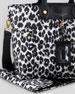 Preppy Nylon Eliz-A-Baby Diaper Bag, Elephant Gray