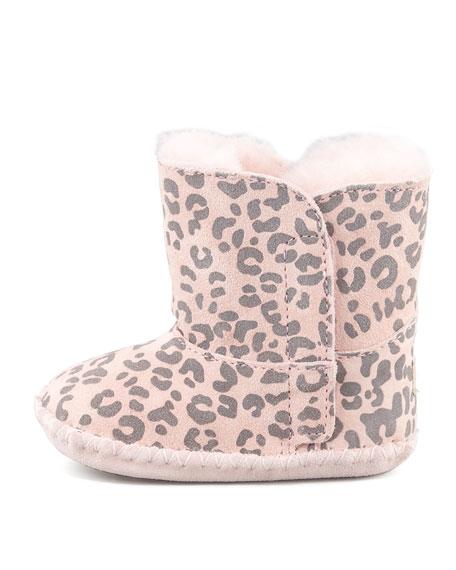ugg ®   baby cassie leopard booties