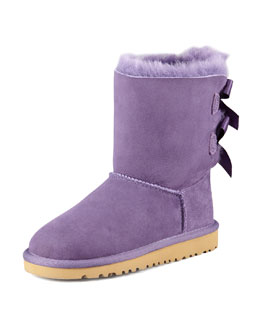 UGG Australia Bailey Bow-Back Boot, Petunia, 5-6Y
