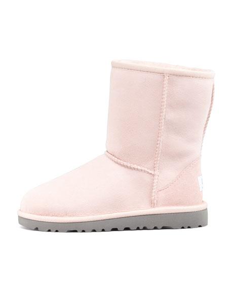 Classic Short Boot, Baby Pink, 5Y-6Y
