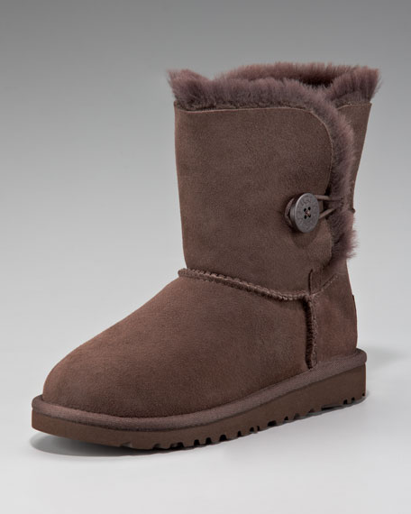 Bailey Button Boot, Chocolate,Youth