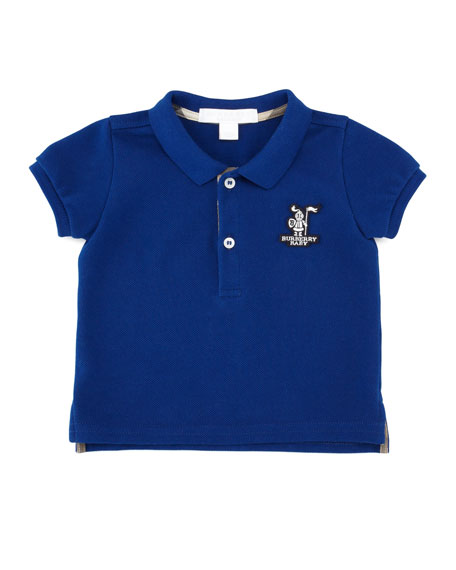 Short-Sleeve Knight Polo, Sizes 18M-3Y