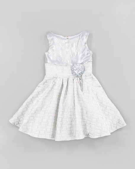 Silver Lining Dress, Sizes 2-6