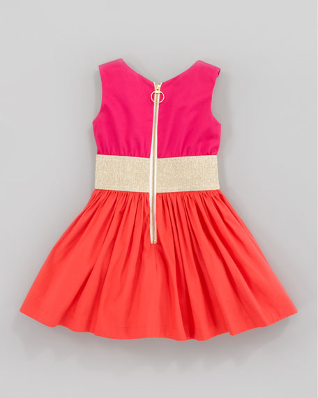 Orange Sunset Dress, Sizes 2-6