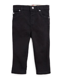 Burberry Infant Boys' Casual Denim Jeans, Black