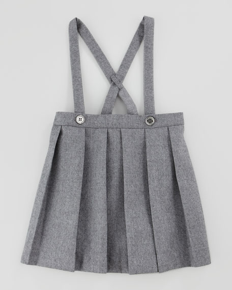 Infant Girls' Jumper, Gray Melange