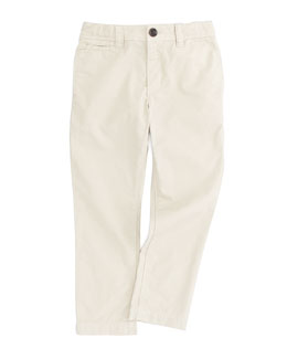 Burberry Boys' Casual Pants, Trench, 4-10Y