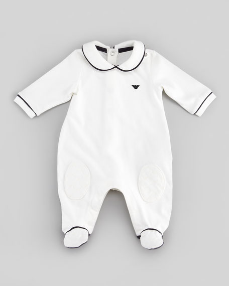 Playsuit with Interchangeable Bibs, 3-9 Months
