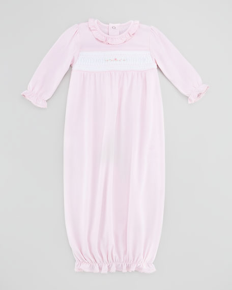Rosebuds Baby Sack Gown