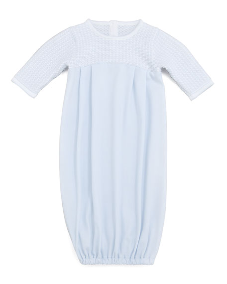 Harmony Blue Baby Sack Gown