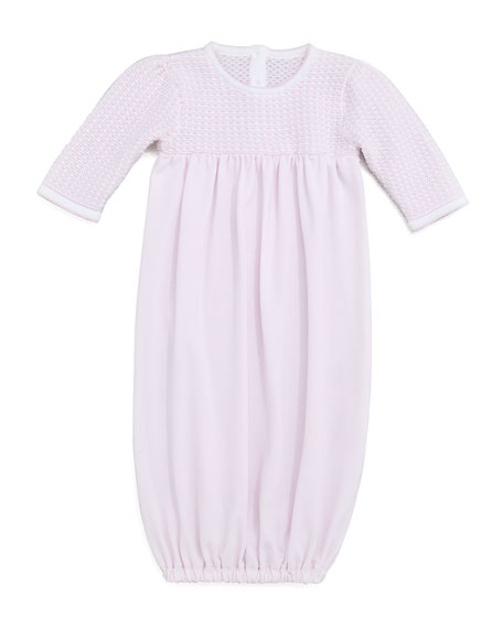 Harmony Pink Baby Sack Gown
