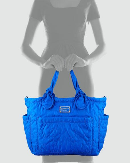 a9180d1dc251f MARC by Marc Jacobs Pretty Nylon Eliz-A-Baby Diaper Bag, Bauhaus Blue