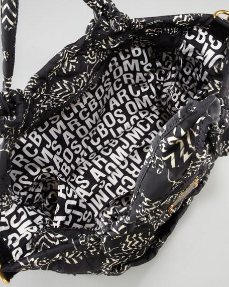 Pretty Nylon Eliz-A-Baby Diaper Bag, Black Multi