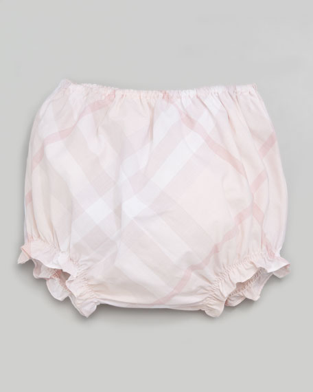 Check Dress & Bloomers, 3-24 Months