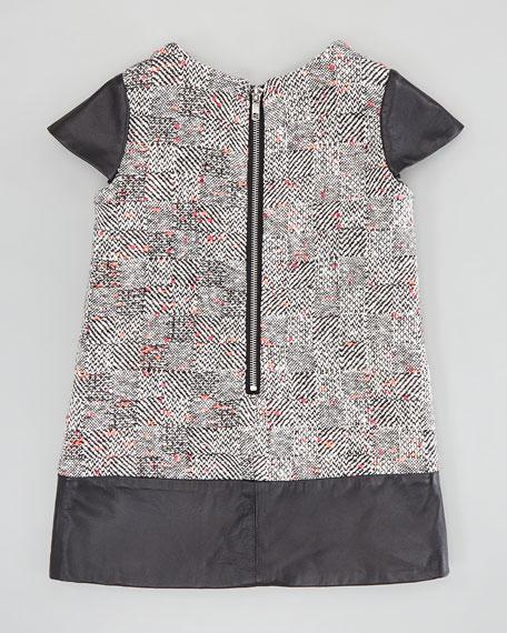 Rachel Combo Shift Dress, Multi, 8-10