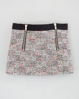 Milly Minis Monica Miniskirt, Multi 2-6