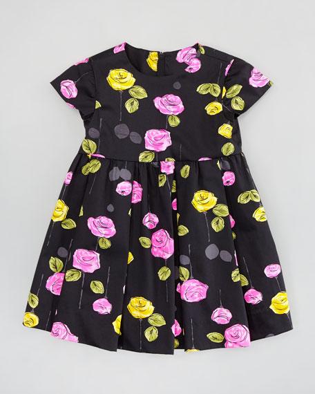 Mischa Dress, Black Multi, 2-6