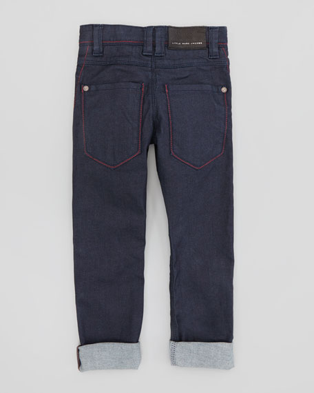 Slim-Fit Denim Pants, 2Y-5Y