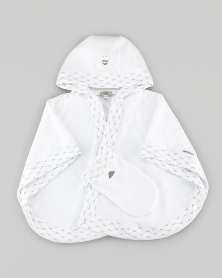 Hooded Baby Towel & Wash-Mitt Gift Set