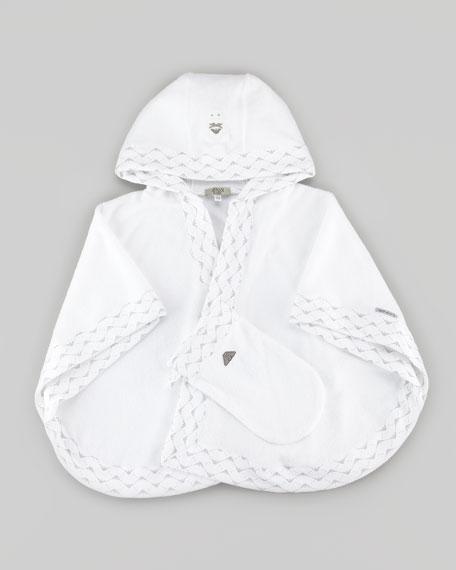 Armani Towels Online: Armani Junior Hooded Baby Towel & Wash-Mitt Gift Set