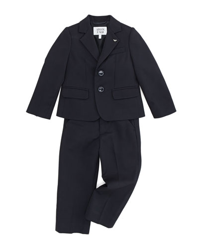 Boys' Two-Piece Suit, Blue, 2Y-8Y