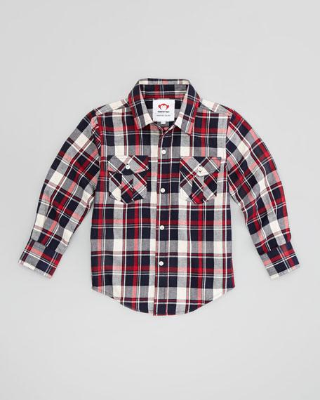 Fire Brick Flannel Shirt