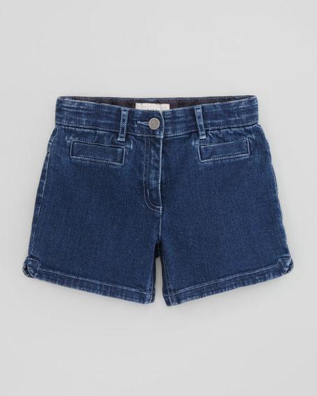 Beau Denim Shorts, Blue
