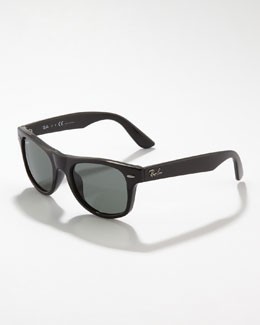 Ray-Ban Junior Wayfarer Sunglasses, Black