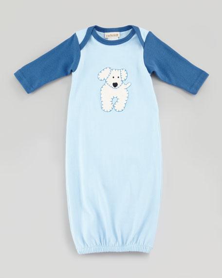 New Born Boy's Best Friend Sleep Sack, Blue, One Size