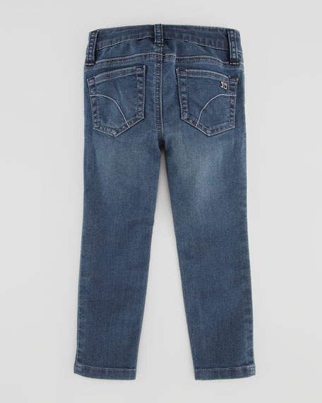 Girl's Stretch Denim Leggings, Ryan, Sizes 8-10