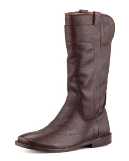Frye Paige Tall Riding Boot, Dark Brown