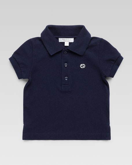 Short-Sleeve Knit Polo