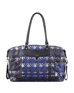 Rebecca Minkoff Kendra Nylon Diaper Bag, Royal Blue