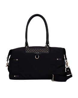 Rebecca Minkoff Kendra Nylon Diaper Bag, Black