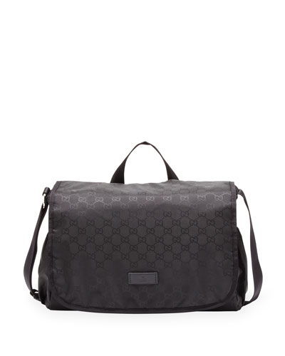 Gucci GG Nylon Diaper Bag