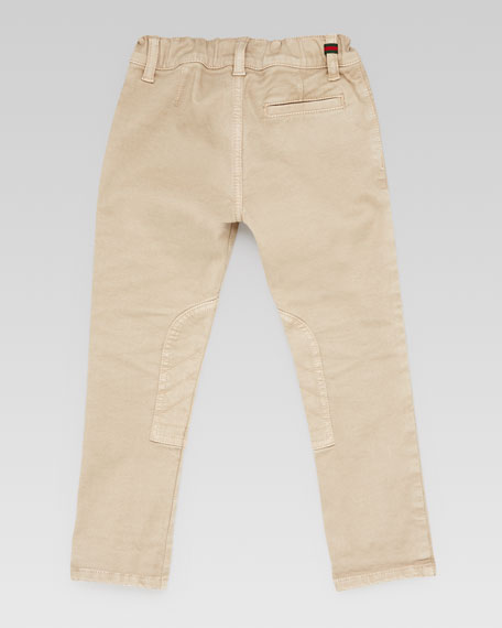 Stretch Cotton Riding Pants