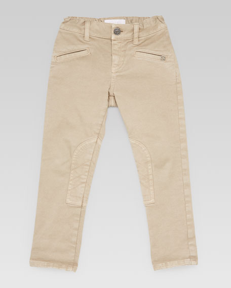 Stretch Cotton Riding Pants