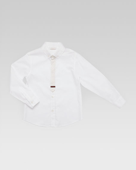 GG-Placket Button-Down