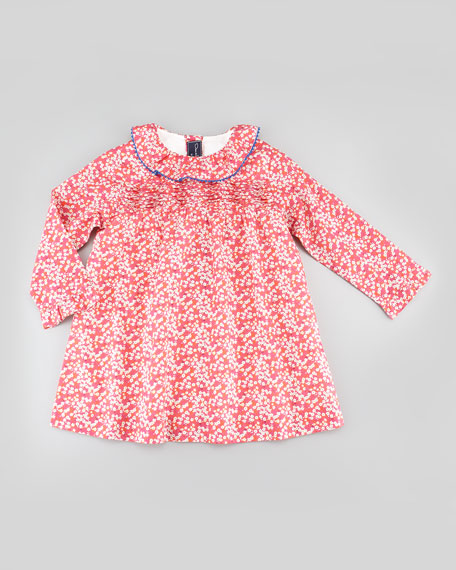 Baby Tunic Dress, Hot Pink, 18M-2T