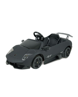 Ride on Cars Lamborghini Murcielago Electric Car, Black