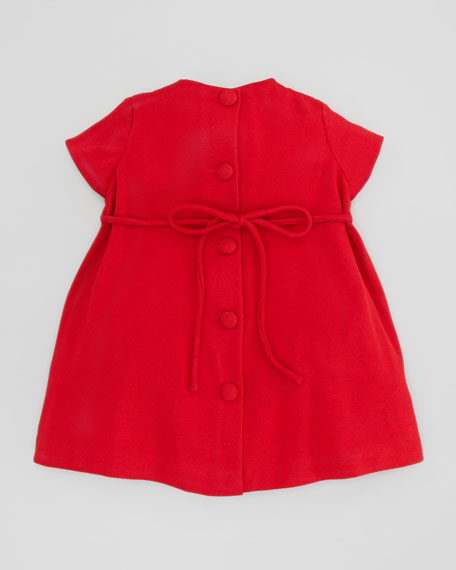 Empire Dress with Bow Detail, 2T-3T