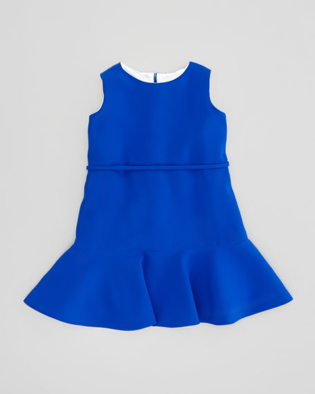 Bright Royal Dress, Blue, 2T-3T