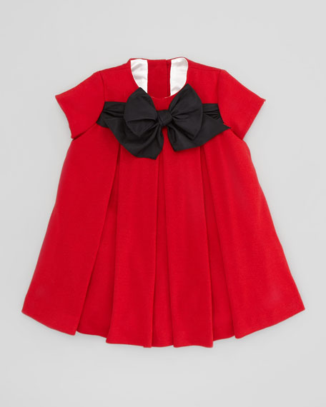 Empire Dress with Bow Detail, Sizes 4-6X