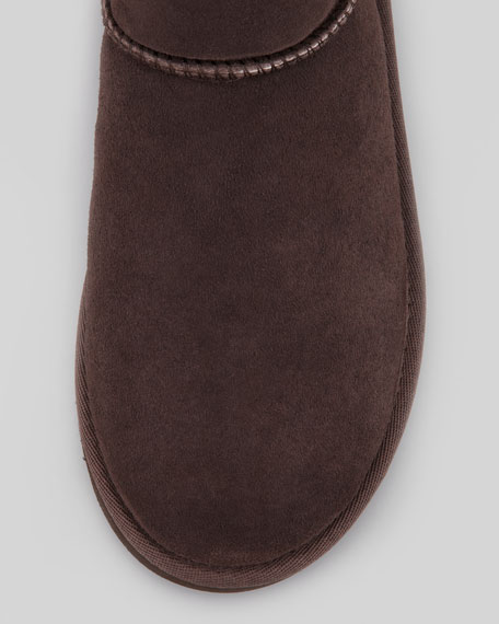 Monogrammed Classic Short Boot, 5Y-6Y