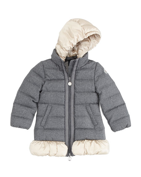 Nadine Quilted Wool Jacket, Sizes 2-6
